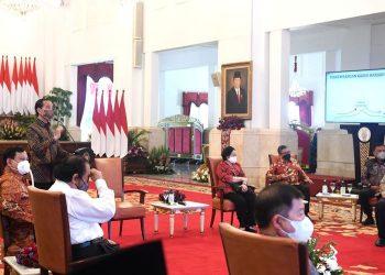 Pertemuan Presiden Jokowi beserta Partai Politik Pendukung Pemerintah di Istana Merdeka/foto: PDI Perjuangan