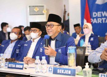 Ketua Umum Partai Amanat Nasional (PAN) Zulkifli Hasan/kompas.com