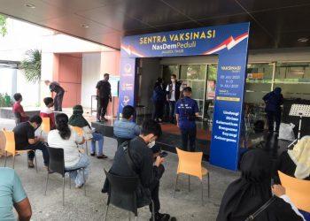 NasDem laksanakan vaksinasi untuk warga DKI Jakarta/Foto: Partai Nasdem