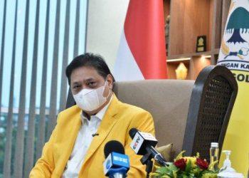 Ketua Umum DPP Partai Golkar Airlangga Hartarto/tribunnews.com