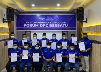 Pertemuan 13 DPC Partai Demokrat di Aceh/foto: Partai Demokrat